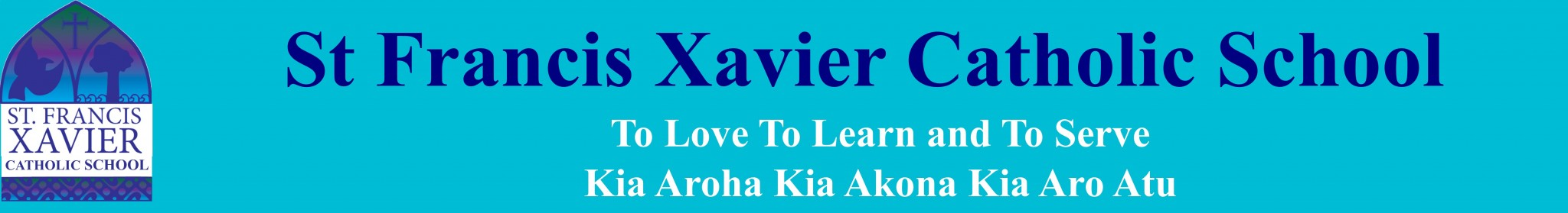 St Francis Xavier Catholic School Logo